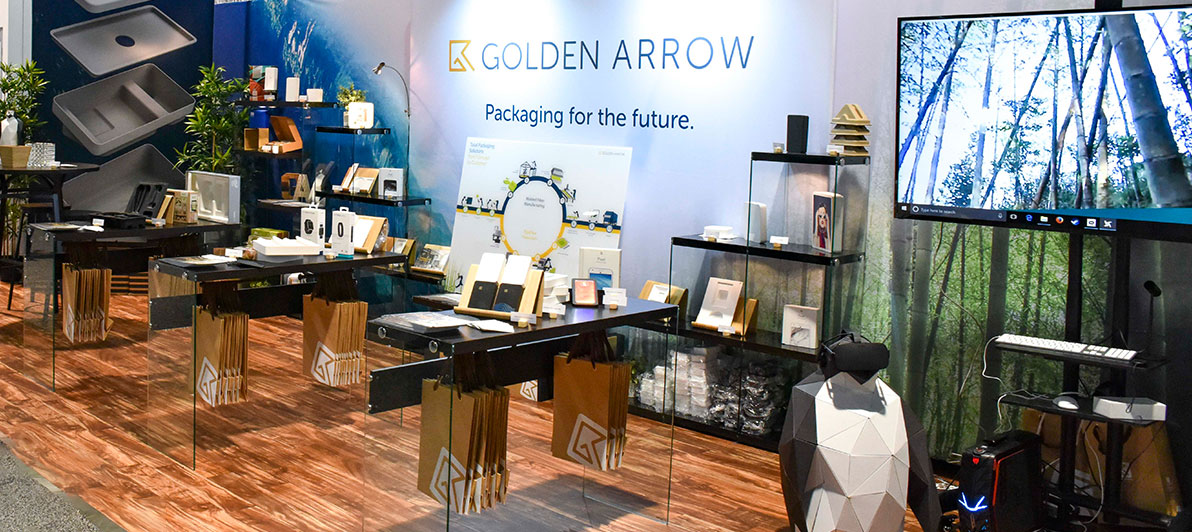 Pack Expo Golden Arrow Booth Display